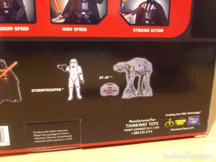 Figuras y Muñecos Star Wars: STAR WARS - DARTH VADER - FIGURA - 45 CM - MOVIMIENTO - LUCES SONIDOS - INTERACTIVO - THINKWAY NUEVO - Foto 27 - 94874191