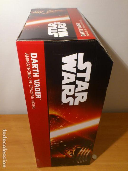 Figuras y Muñecos Star Wars: STAR WARS - DARTH VADER - FIGURA - 45 CM - MOVIMIENTO - LUCES SONIDOS - INTERACTIVO - THINKWAY NUEVO - Foto 29 - 94874191