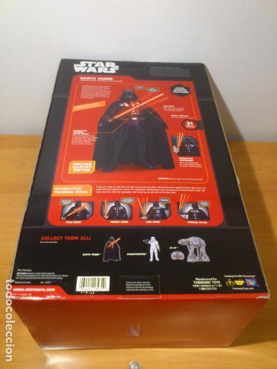 Figuras y Muñecos Star Wars: STAR WARS - DARTH VADER - FIGURA - 45 CM - MOVIMIENTO - LUCES SONIDOS - INTERACTIVO - THINKWAY NUEVO - Foto 31 - 94874191
