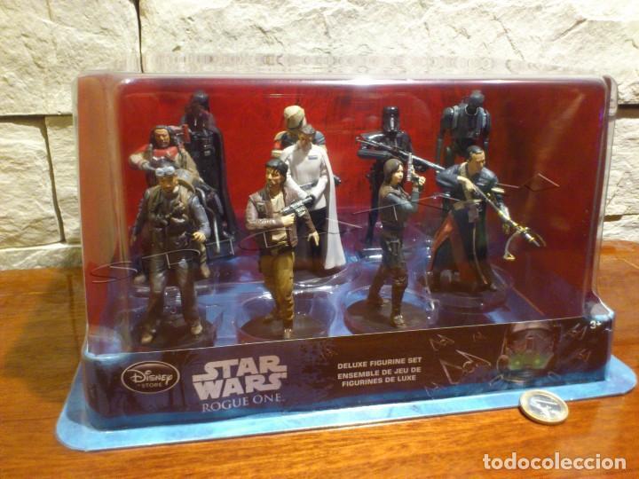 STAR WARS - 10 FIGURAS - SET DE LUJO - DE LUXE - ROGUE ONE - DISNEY STORE - NUEVO - DESCATALOGADO (Juguetes - Figuras de Acción - Star Wars)