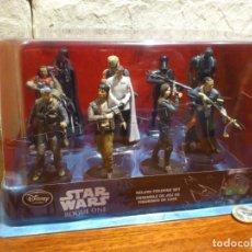 Figuras y Muñecos Star Wars: STAR WARS - 10 FIGURAS - SET DE LUJO - DE LUXE - ROGUE ONE - DISNEY STORE - NUEVO - DESCATALOGADO. Lote 107906054