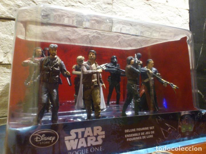 Figuras y Muñecos Star Wars: STAR WARS - 10 FIGURAS - SET DE LUJO - DE LUXE - ROGUE ONE - DISNEY STORE - NUEVO - DESCATALOGADO - Foto 2 - 107906054