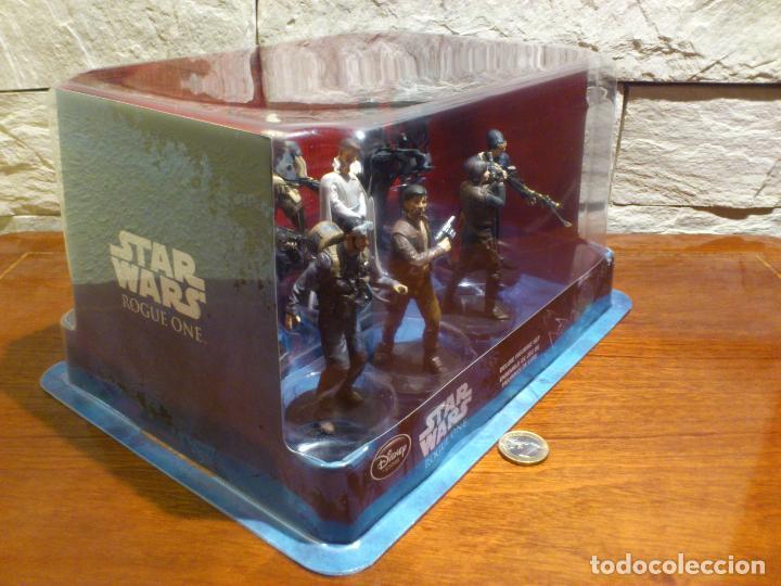 Figuras y Muñecos Star Wars: STAR WARS - 10 FIGURAS - SET DE LUJO - DE LUXE - ROGUE ONE - DISNEY STORE - NUEVO - DESCATALOGADO - Foto 4 - 107906054