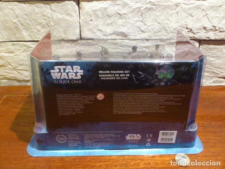 Figuras y Muñecos Star Wars: STAR WARS - 10 FIGURAS - SET DE LUJO - DE LUXE - ROGUE ONE - DISNEY STORE - NUEVO - DESCATALOGADO - Foto 6 - 107906054