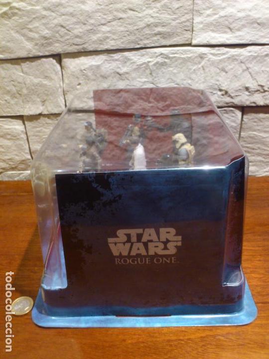 Figuras y Muñecos Star Wars: STAR WARS - 10 FIGURAS - SET DE LUJO - DE LUXE - ROGUE ONE - DISNEY STORE - NUEVO - DESCATALOGADO - Foto 7 - 107906054