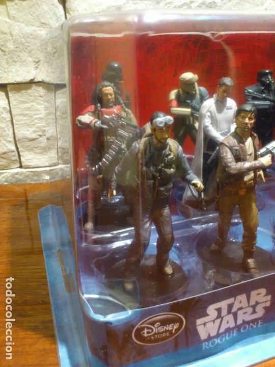 Figuras y Muñecos Star Wars: STAR WARS - 10 FIGURAS - SET DE LUJO - DE LUXE - ROGUE ONE - DISNEY STORE - NUEVO - DESCATALOGADO - Foto 8 - 107906054