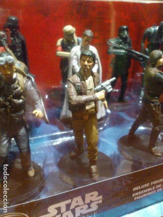 Figuras y Muñecos Star Wars: STAR WARS - 10 FIGURAS - SET DE LUJO - DE LUXE - ROGUE ONE - DISNEY STORE - NUEVO - DESCATALOGADO - Foto 9 - 107906054
