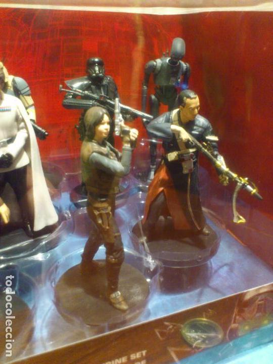 Figuras y Muñecos Star Wars: STAR WARS - 10 FIGURAS - SET DE LUJO - DE LUXE - ROGUE ONE - DISNEY STORE - NUEVO - DESCATALOGADO - Foto 10 - 107906054
