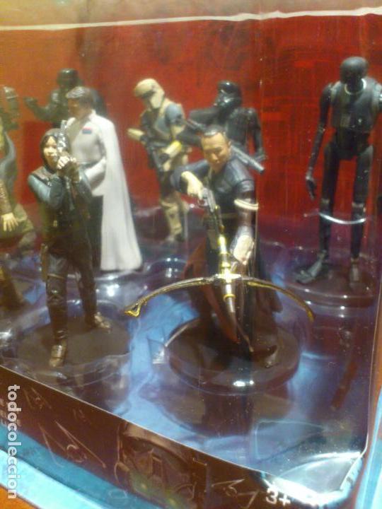 Figuras y Muñecos Star Wars: STAR WARS - 10 FIGURAS - SET DE LUJO - DE LUXE - ROGUE ONE - DISNEY STORE - NUEVO - DESCATALOGADO - Foto 11 - 107906054