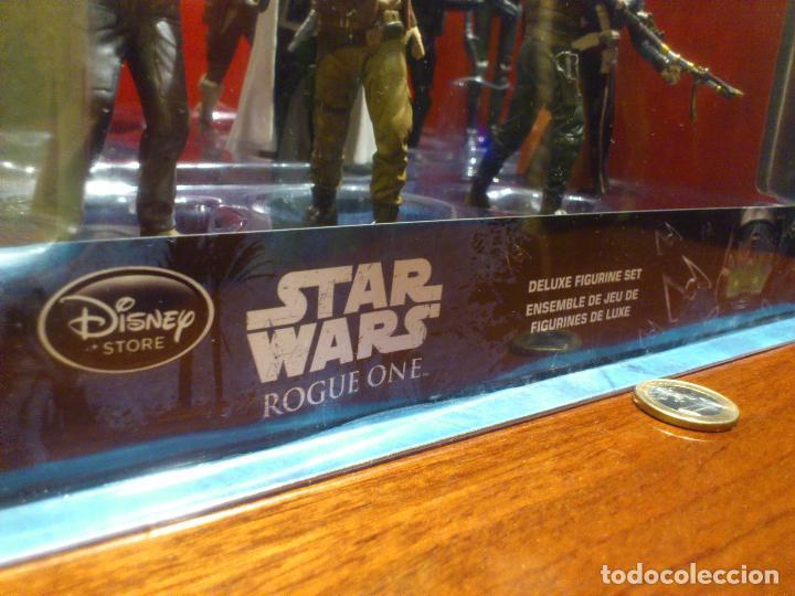 Figuras y Muñecos Star Wars: STAR WARS - 10 FIGURAS - SET DE LUJO - DE LUXE - ROGUE ONE - DISNEY STORE - NUEVO - DESCATALOGADO - Foto 12 - 107906054