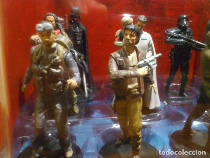 Figuras y Muñecos Star Wars: STAR WARS - 10 FIGURAS - SET DE LUJO - DE LUXE - ROGUE ONE - DISNEY STORE - NUEVO - DESCATALOGADO - Foto 14 - 107906054