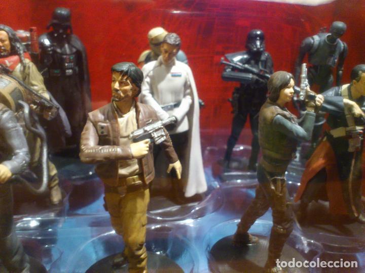 Figuras y Muñecos Star Wars: STAR WARS - 10 FIGURAS - SET DE LUJO - DE LUXE - ROGUE ONE - DISNEY STORE - NUEVO - DESCATALOGADO - Foto 15 - 107906054