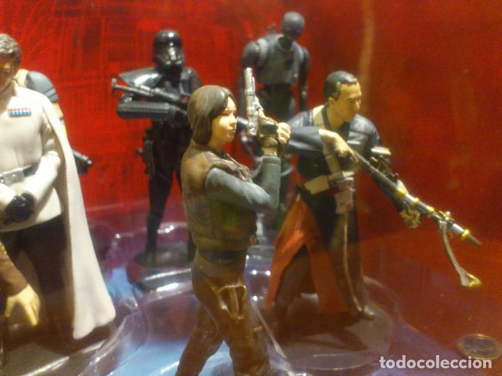 Figuras y Muñecos Star Wars: STAR WARS - 10 FIGURAS - SET DE LUJO - DE LUXE - ROGUE ONE - DISNEY STORE - NUEVO - DESCATALOGADO - Foto 16 - 107906054