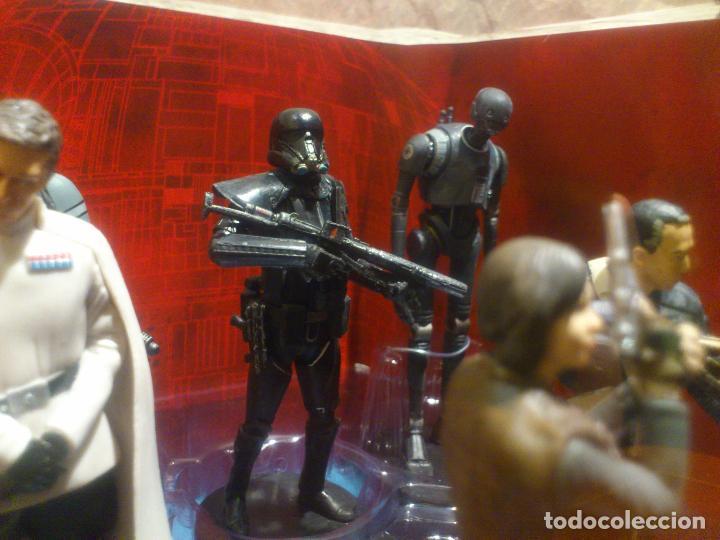 Figuras y Muñecos Star Wars: STAR WARS - 10 FIGURAS - SET DE LUJO - DE LUXE - ROGUE ONE - DISNEY STORE - NUEVO - DESCATALOGADO - Foto 17 - 107906054