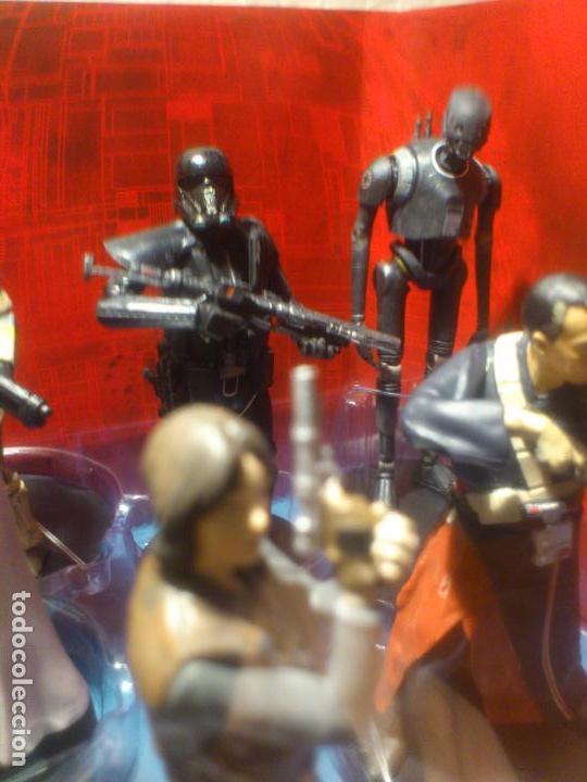 Figuras y Muñecos Star Wars: STAR WARS - 10 FIGURAS - SET DE LUJO - DE LUXE - ROGUE ONE - DISNEY STORE - NUEVO - DESCATALOGADO - Foto 19 - 107906054