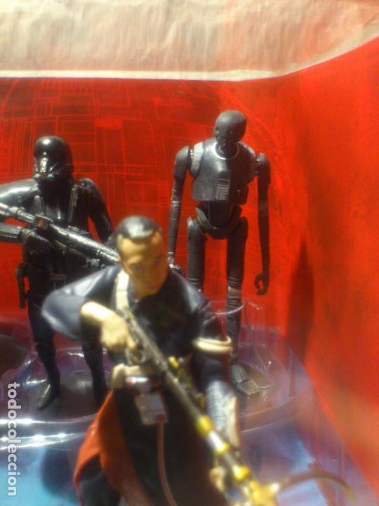 Figuras y Muñecos Star Wars: STAR WARS - 10 FIGURAS - SET DE LUJO - DE LUXE - ROGUE ONE - DISNEY STORE - NUEVO - DESCATALOGADO - Foto 20 - 107906054