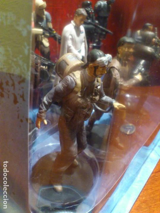 Figuras y Muñecos Star Wars: STAR WARS - 10 FIGURAS - SET DE LUJO - DE LUXE - ROGUE ONE - DISNEY STORE - NUEVO - DESCATALOGADO - Foto 25 - 107906054