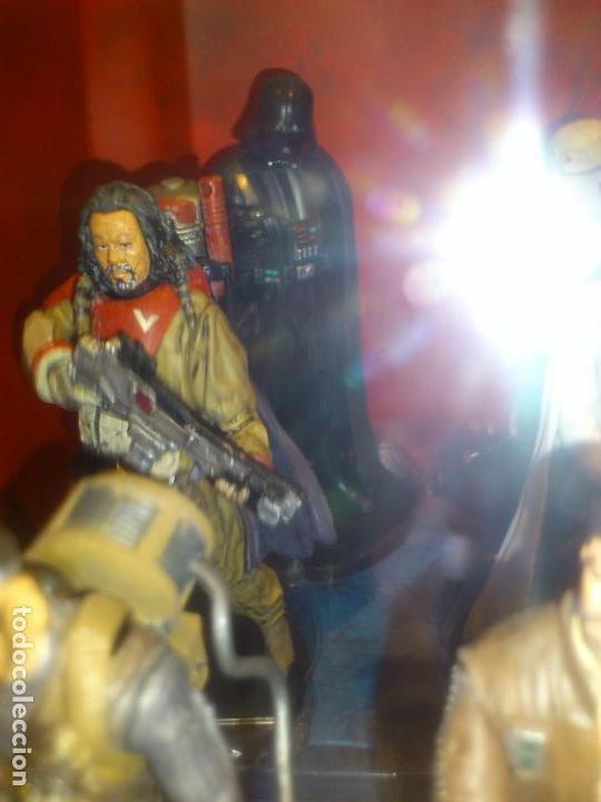 Figuras y Muñecos Star Wars: STAR WARS - 10 FIGURAS - SET DE LUJO - DE LUXE - ROGUE ONE - DISNEY STORE - NUEVO - DESCATALOGADO - Foto 29 - 107906054