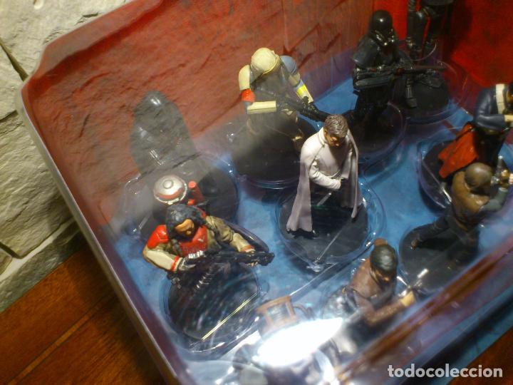 Figuras y Muñecos Star Wars: STAR WARS - 10 FIGURAS - SET DE LUJO - DE LUXE - ROGUE ONE - DISNEY STORE - NUEVO - DESCATALOGADO - Foto 31 - 107906054