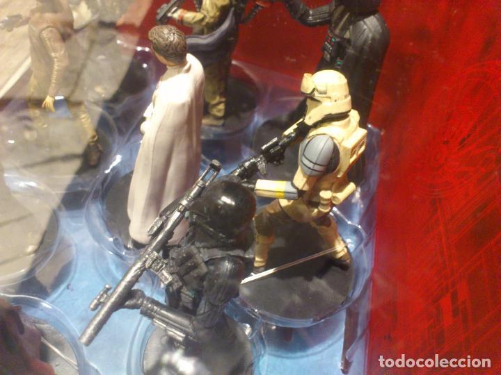 Figuras y Muñecos Star Wars: STAR WARS - 10 FIGURAS - SET DE LUJO - DE LUXE - ROGUE ONE - DISNEY STORE - NUEVO - DESCATALOGADO - Foto 32 - 107906054