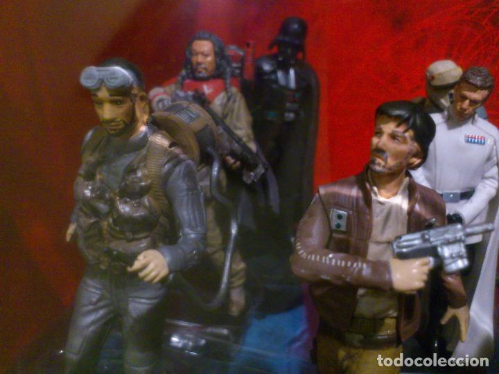 Figuras y Muñecos Star Wars: STAR WARS - 10 FIGURAS - SET DE LUJO - DE LUXE - ROGUE ONE - DISNEY STORE - NUEVO - DESCATALOGADO - Foto 35 - 107906054