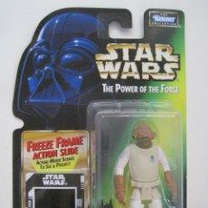 Figure e Bambolotti Star Wars: STAR WARS FIGURA ALMIRANTE ADKBAR DE KENNER THE POWER OF THE FORCE AÑO 1997 NUEVO EN BLISTER. Lote 94975807