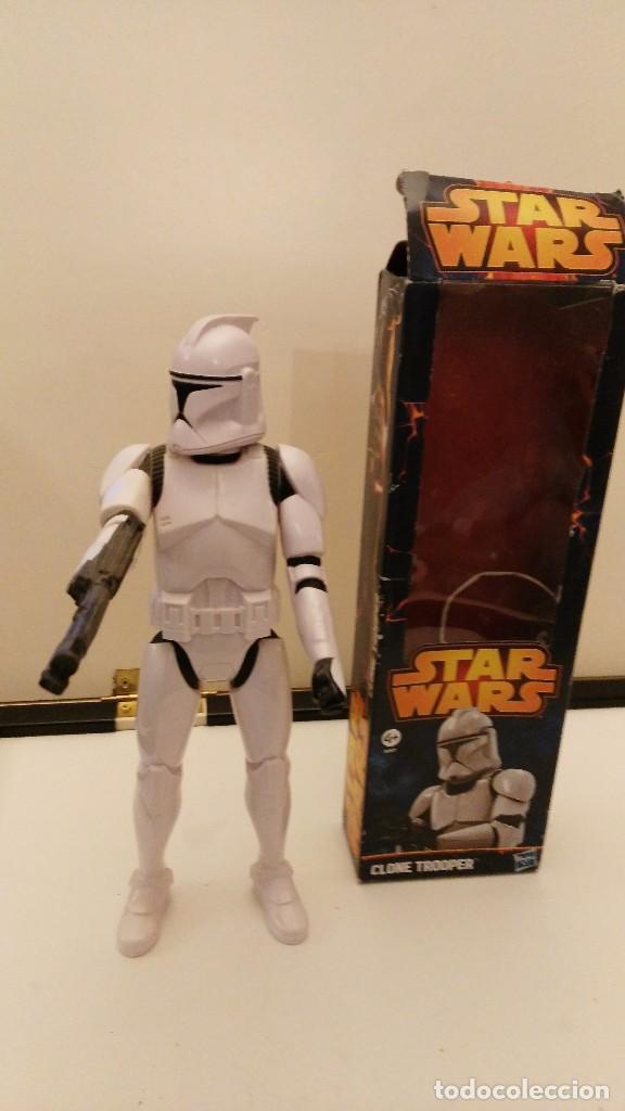 Figuren von Star Wars: FIGURA STAR WARS CLONE TROOPER 12 Pulgadas 30 CM HASBRO -STORMTROOPER - Foto 2 - 109762246