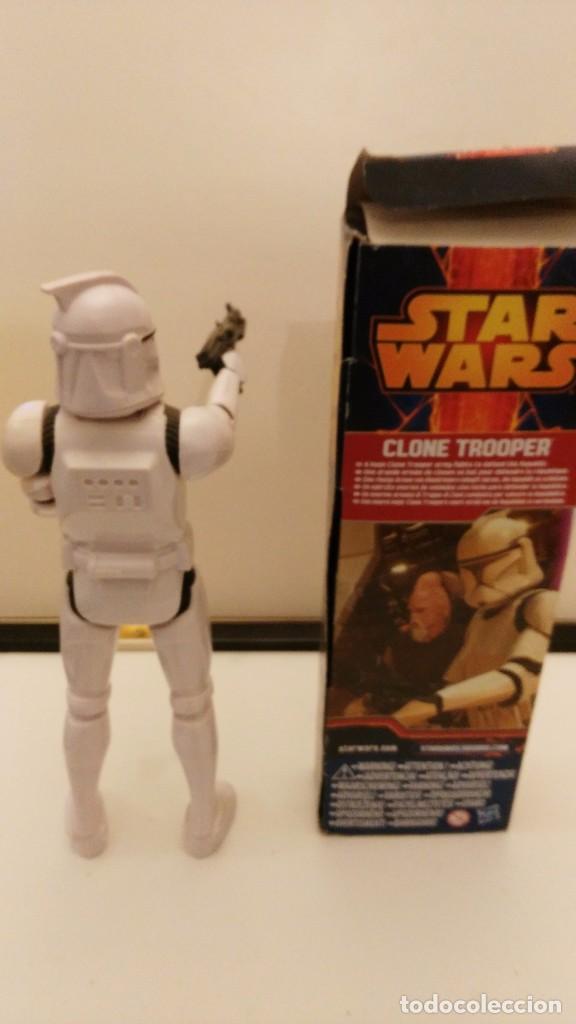 Figuren von Star Wars: FIGURA STAR WARS CLONE TROOPER 12 Pulgadas 30 CM HASBRO -STORMTROOPER - Foto 3 - 109762246