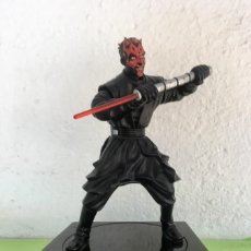 Figuras y Muñecos Star Wars: DARTH MAUL STAR WARS DARK MAUL INTERACTIVO MOVIMIENTO Y SONIDO CONECTABLE PC TB HUCHA 1999 THINKWAY. Lote 95335859