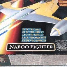 Figuras y Muñecos Star Wars: STAR WARS: NABOO FIGHTER EPISODE I ELECTRÓNICO - HASBRO. ¡NUEVA!! .. Lote 95467939