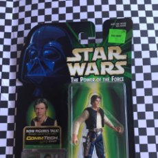 Figuras y Muñecos Star Wars: HAN SOLO STAR WARS THE POWER OF THE FORCÉ 1999. Lote 95478235