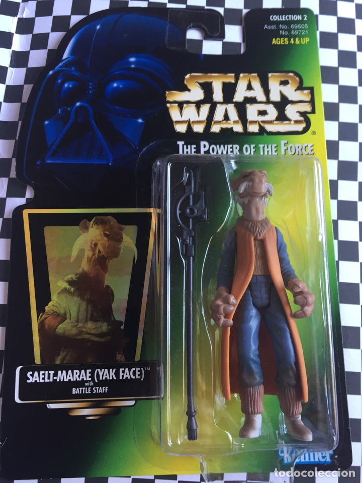 STAR WARS THE POWER OF THE FORCÉ YAK FACE JENNER 1997 (Juguetes - Figuras de Acción - Star Wars)