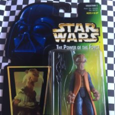 Figuras y Muñecos Star Wars: STAR WARS THE POWER OF THE FORCÉ YAK FACE JENNER 1997. Lote 95478899