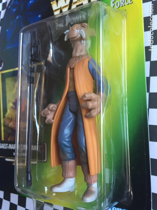 Figuras y Muñecos Star Wars: Star Wars The power of The forcé Yak Face Jenner 1997 - Foto 3 - 95478899