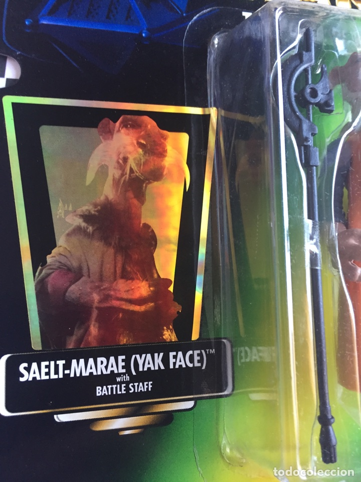 Figuras y Muñecos Star Wars: Star Wars The power of The forcé Yak Face Jenner 1997 - Foto 4 - 95478899