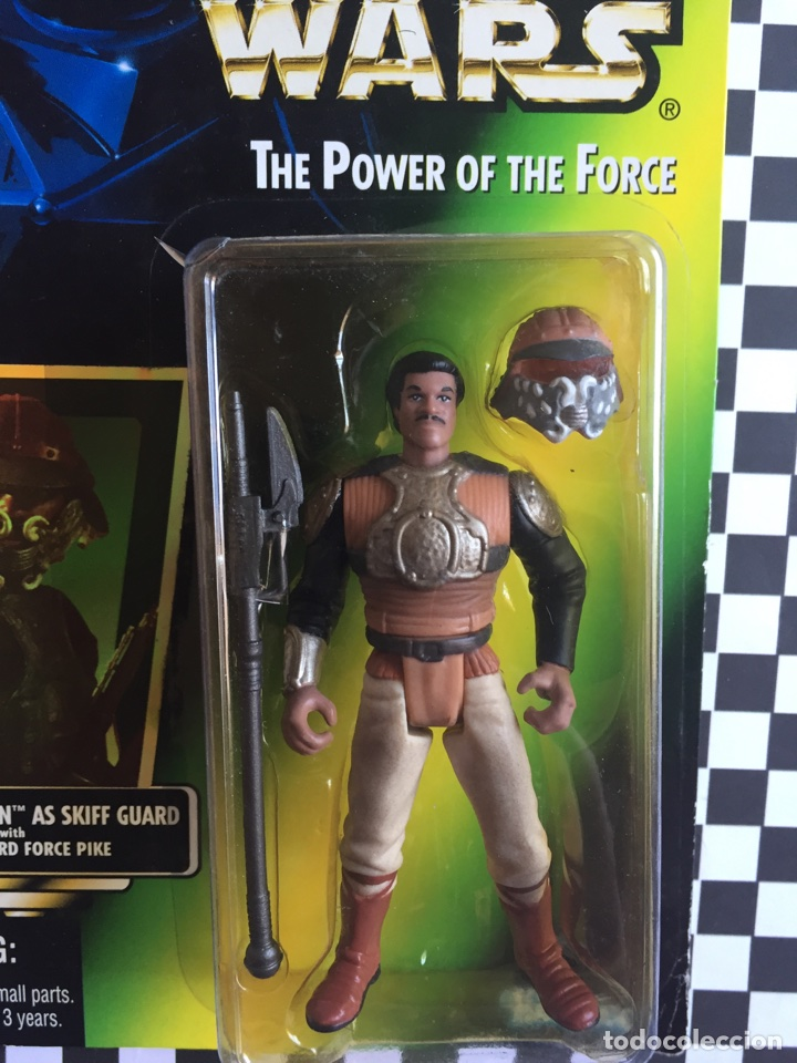 Figuras y Muñecos Star Wars: Star Wars The power of The forcé Landó Carlrissian - Foto 2 - 95480166