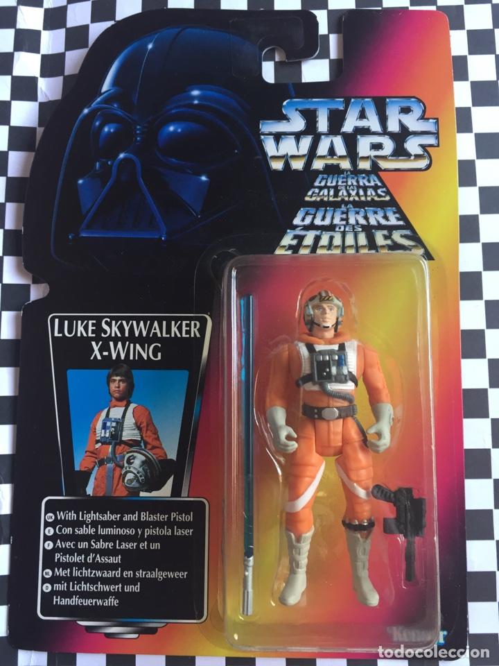 STAR WARS LA GUERRA DE LAS GALAXIAS LUKE SKYWALKER X-WING (Juguetes - Figuras de Acción - Star Wars)