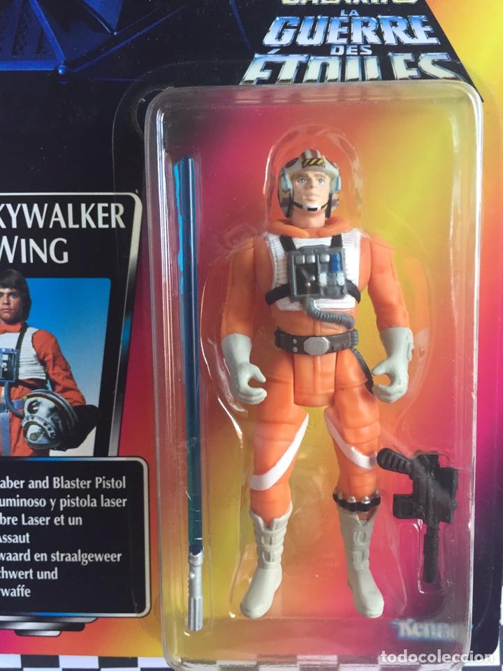 Figuras y Muñecos Star Wars: Star Wars la guerra de las Galaxias Luke Skywalker X-Wing - Foto 2 - 95480959