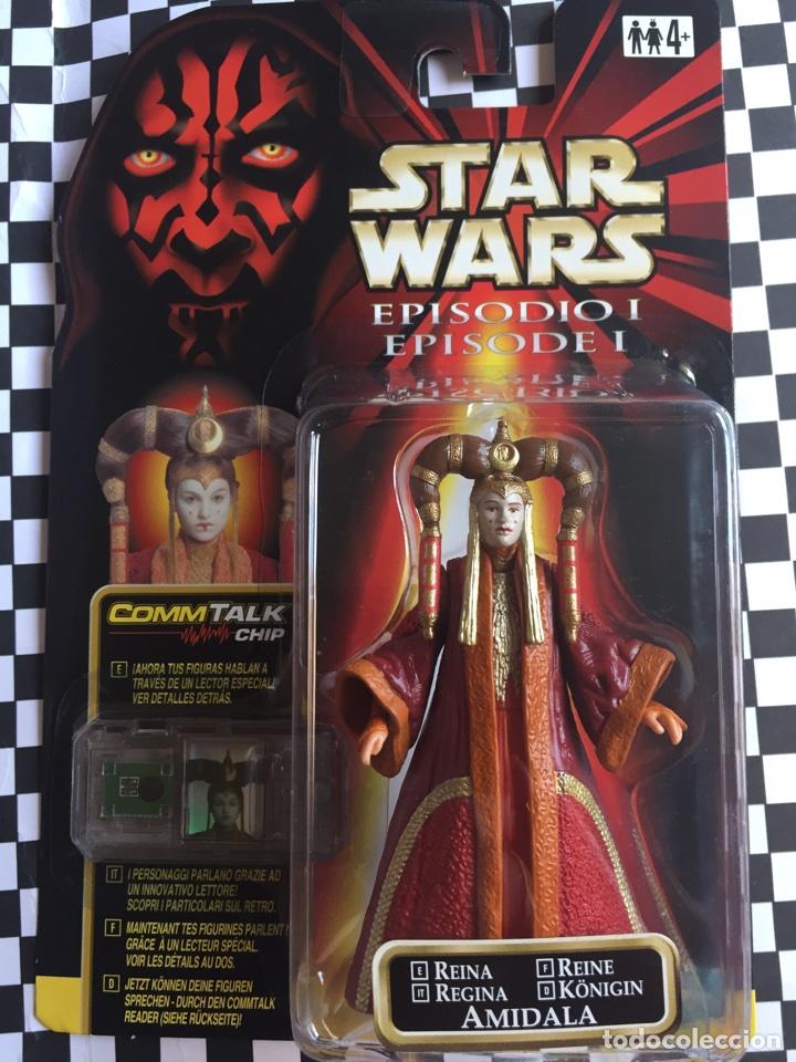 STAR WARS EPISODIO I PRINCESA AMIDALA 1999 (Juguetes - Figuras de Acción - Star Wars)