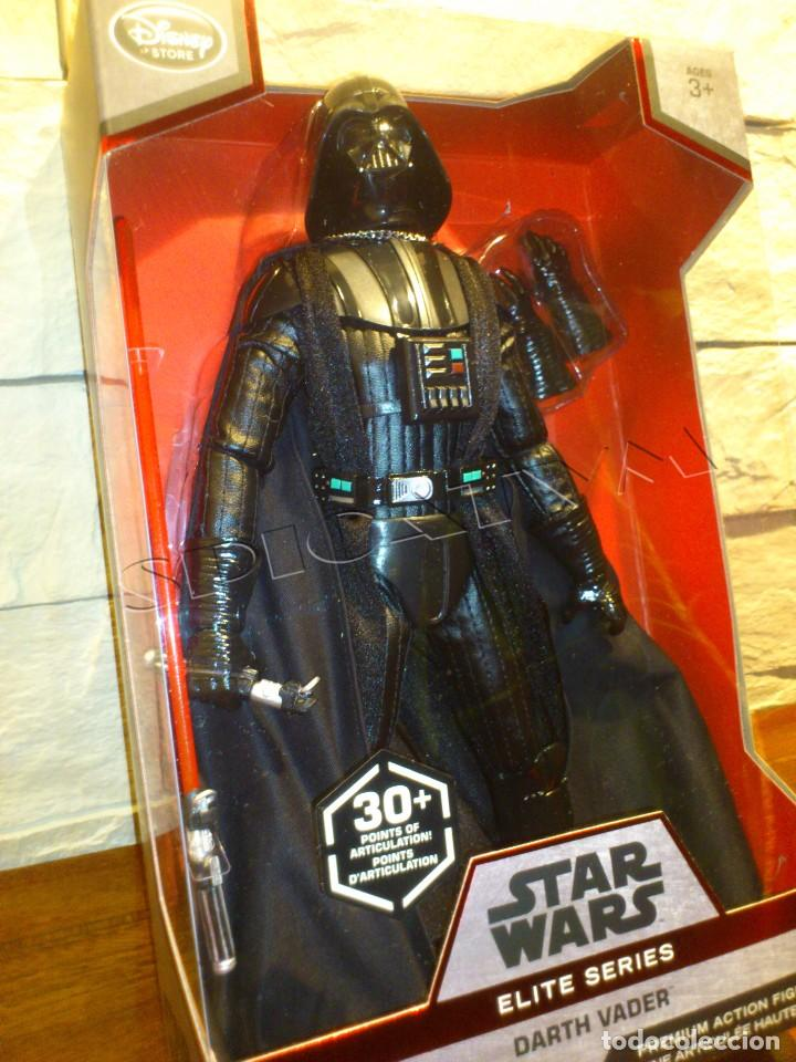 STAR WARS - DARTH VADER - FIGURA - ELITE PREMIUM SERIES - 30 CM - ORIGINAL DISNEY STORE - NUEVO (Juguetes - Figuras de Acción - Star Wars)