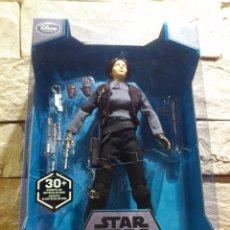 Figuras y Muñecos Star Wars: STAR WARS - ROGUE ONE - JYN ERSO - FIGURA - ELITE - 27 CM - NUEVO - ORIGINAL DISNEY STORE. Lote 95662403