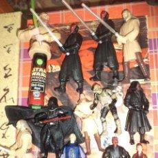 Figuras y Muñecos Star Wars: LOTE 12 FIGURAS LA GUERRA DE LAS GALAXIAS STAR WARS EPISODIO I.1998 / 1999.. Lote 96325043