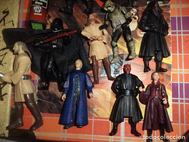Figuras y Muñecos Star Wars: Lote 12 figuras La Guerra de las Galaxias Star Wars Episodio I.1998 / 1999. - Foto 2 - 96325043