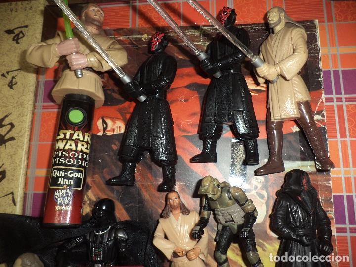Figuras y Muñecos Star Wars: Lote 12 figuras La Guerra de las Galaxias Star Wars Episodio I.1998 / 1999. - Foto 3 - 96325043