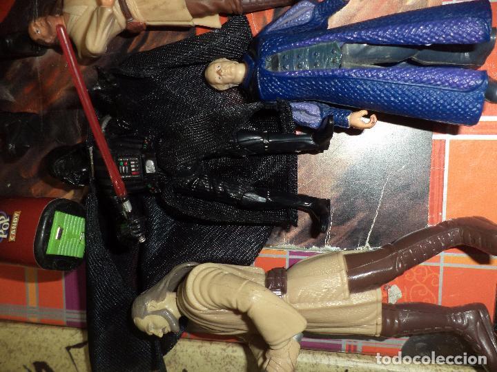 Figuras y Muñecos Star Wars: Lote 12 figuras La Guerra de las Galaxias Star Wars Episodio I.1998 / 1999. - Foto 4 - 96325043