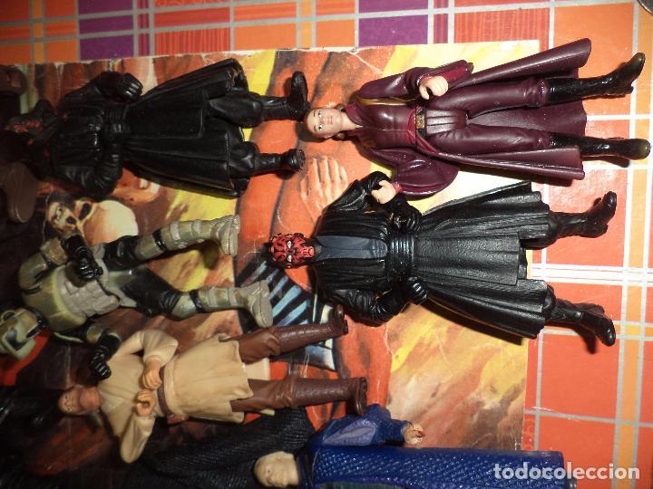 Figuras y Muñecos Star Wars: Lote 12 figuras La Guerra de las Galaxias Star Wars Episodio I.1998 / 1999. - Foto 5 - 96325043