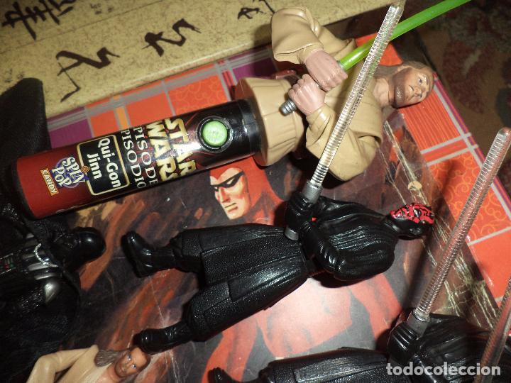 Figuras y Muñecos Star Wars: Lote 12 figuras La Guerra de las Galaxias Star Wars Episodio I.1998 / 1999. - Foto 6 - 96325043
