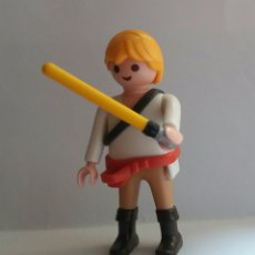 Figuras y Muñecos Star Wars: 1 PLAYMOBIL LUKE SKYWALKER STAR WARS LA GUERRA DE LAS GALAXIAS. Lote 72822863