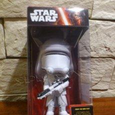Figuras y Muñecos Star Wars: STAR WARS - SNOWTROOPER - FIGURA - FUNKO - EP. VII - CABEZON - WACKY WOBBLER - BOBBLE HEAD - NUEVO. Lote 96559147