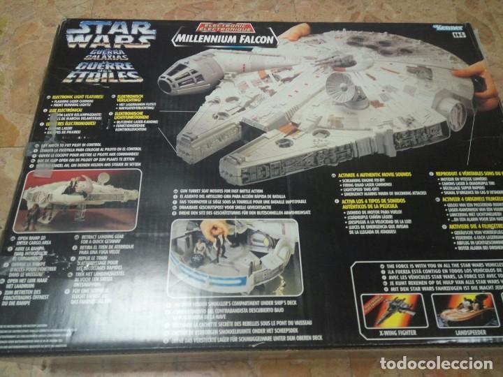 Figuras y Muñecos Star Wars: NAVE HALCÓN MILENARIO. MILLENNIUM FALCON. DE KENNER. AÑO 1995. ELECTRÓNICO. LUCAS FILM. STAR WARS. - Foto 3 - 96567947